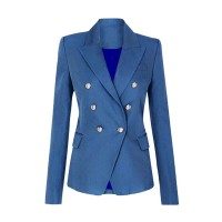 Double Breast Structured Blazer