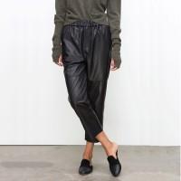 Harem Leather Pants
